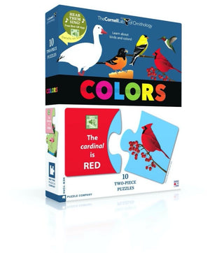 Bird Colors Two Piece Puzzles