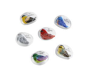 Bird Song Collection Bird Pocket Stones