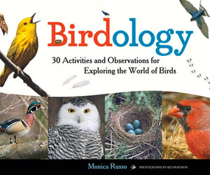 Birdology Paperback Book with 30 activities and observations for exploring the world of birds