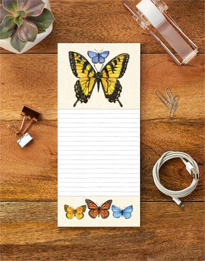 Butterfly Study Sticky Note Pad