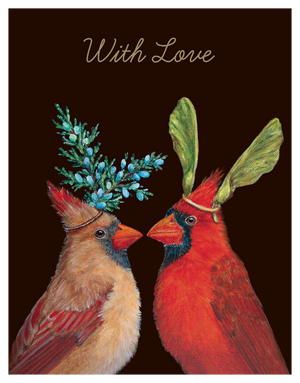 Artwork for Cardinals With Love Card