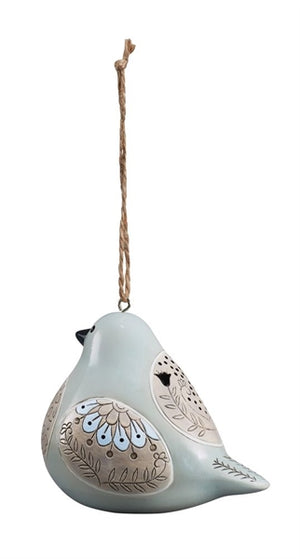 Bird Song Collection Dove Ornament rear view