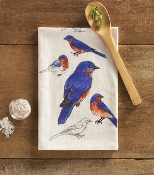 Eastern Bluebird Towel
