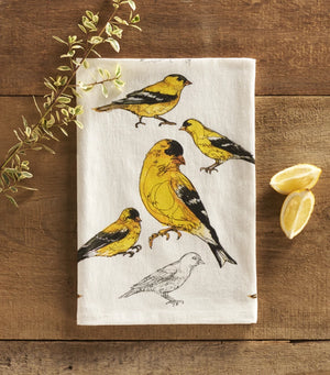 American Goldfinch Towel