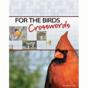 For the Birds Crossword Puzzle Book by Andrew Ries