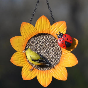 Sunflower Mesh Feeder