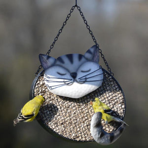 Revenge of the Birds, Cat Mesh Feeder