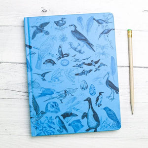 Birds Hardcover Notebook with Dot Grid Paper