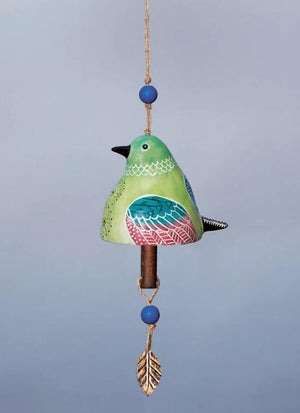 Bird Song Collection Hummingbird Ceramic Bell