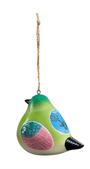 Bird Song Collection Hummingbird Ornament rear view