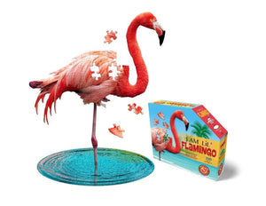 Flamingo - Animal-Shaped Puzzle