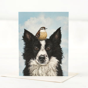 Luther and Pip Greeting Card