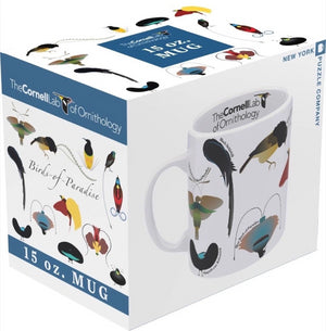 Birds of Paradise Porcelain Jumbo Mug