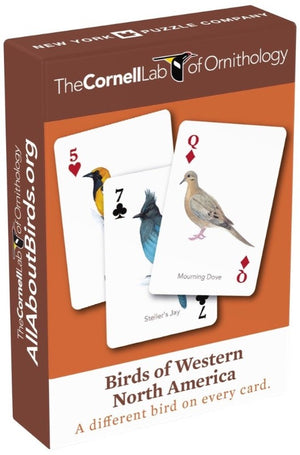 Birds of Western North America Playing Cards