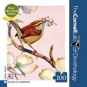 Carolina Wren 100 Piece Mini Puzzle