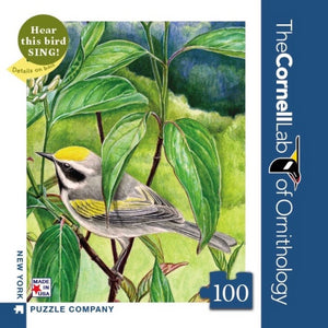 Golden-Winged Warbler 100 Piece Mini Puzzle