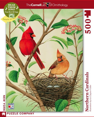 Northern Cardinals Interactive Puzzle