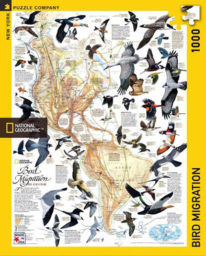 Bird Migration 1000 Piece Puzzle