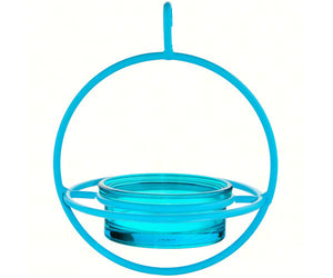 Mosaic Birds Hummble Bold Bird Feeder with Glass Dish - Blue