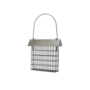 Rustic Farmhouse Single Suet Galvanized Feeder
