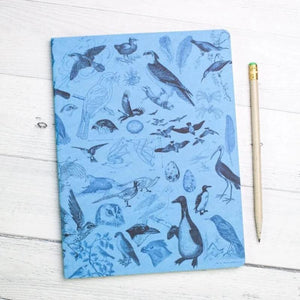 Front Cover of Birds Softcover Notebook with Lined Paper