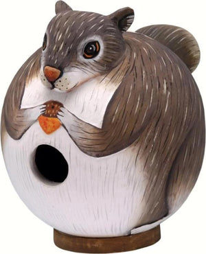 Squirrel Gord-O Birdhouse