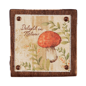 Delight in Nature Wall Art 5""