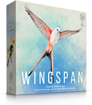 Wingspan is a competitive, medium-weight, card-driven, engine-building board game from Stonemaier Games