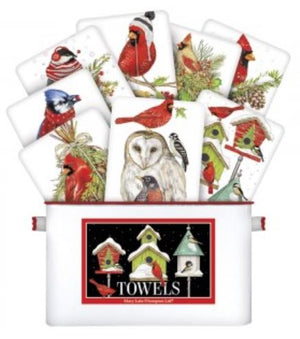 Winter Songbirds Towel Selection