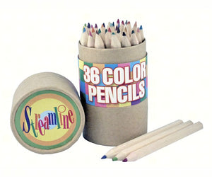 Wood Color Pencil Set (36 colors)