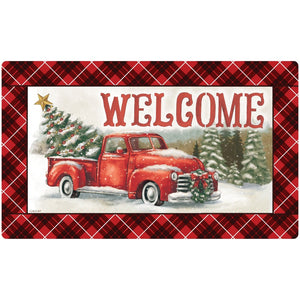 All Hearts Christmas Welcome Mat