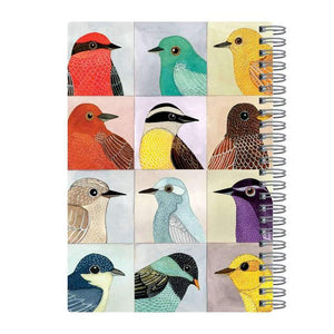 "back cover of the Avian Friends - Spiral Bound Journal 6"" X 8.5"""