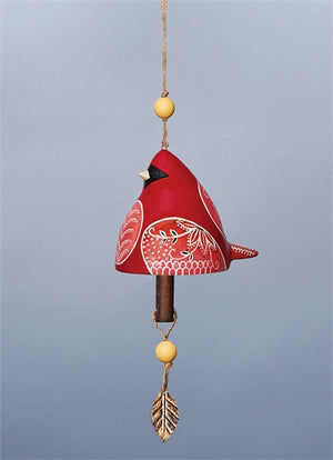 Bird Song Collection Cardinal Ceramic Bell