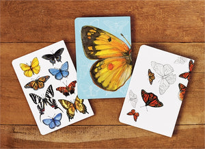 Butterfly Study Softbound Mini Journals (Set of 3 Assorted)