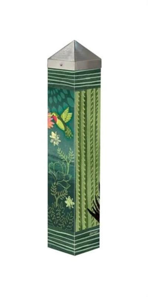 "Night Cactus 20"" Art Pole Side one"