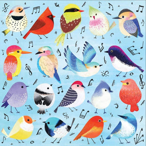 Illustrated artwork for the Songbirds 500 Piece Family Puzzle