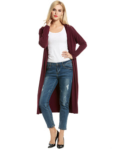 New Trendy Women Hooded Long Sleeve Cardigan