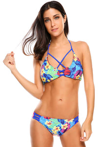 Ekouaer  Two Piece  Bikini Set