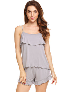 Avidlove Women Sleeveless Cami and Shorts Sleepwear Set