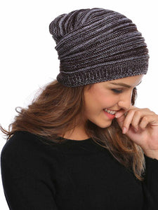 Knitted Unisex Beanie_coffee brown
