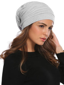 Knitted Unisex Beanie_grey
