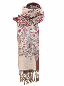 Zeagoo Women Fashion Soft Jacquard Weave Wraps Scarf_3