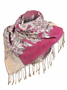 Zeagoo Women Fashion Soft Jacquard Weave Wraps Scarf_4
