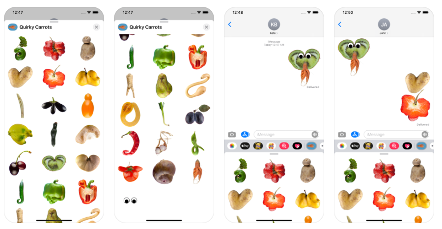 Toffe Peren Stickers Screenshots