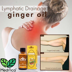 NaturalTherapy™ Lymphatic Drainage Ginger Oil - MediStorey