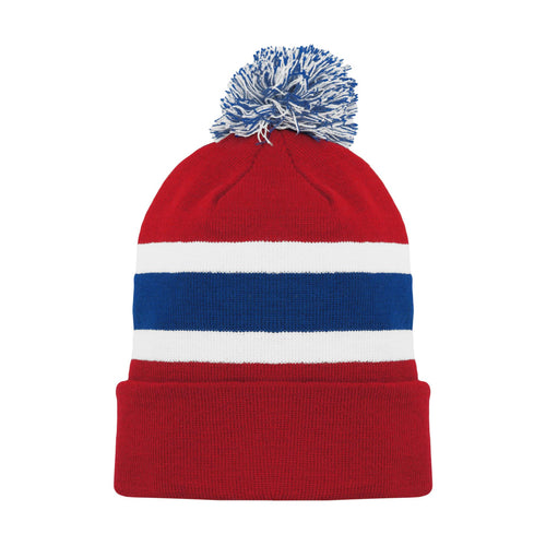 A1830-308 Montreal Canadiens Blank Hockey Beanie Hat