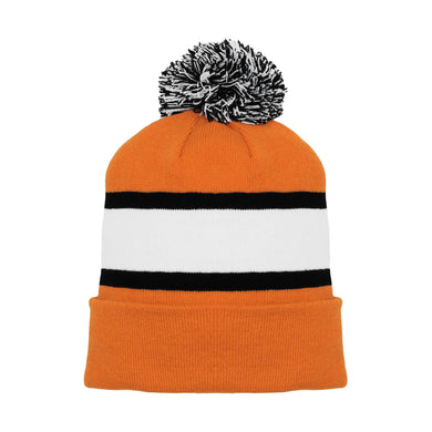 A1830-330 Philadelphia Flyers Blank Hockey Beanie Hat