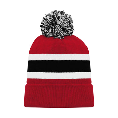 A1830-366 New Jersey Devils Blank Hockey Beanie Hat