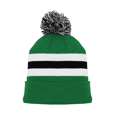 A1830-376 Dallas Stars Blank Hockey Beanie Hat