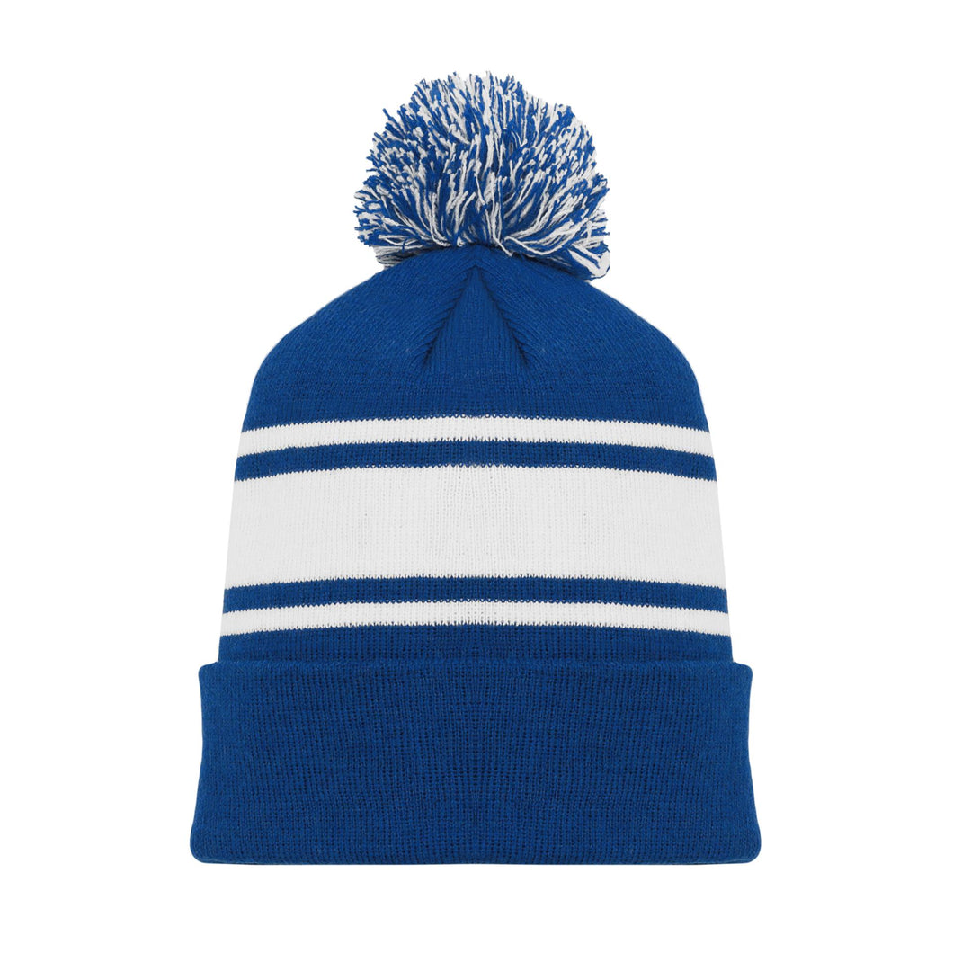 A1830-402 Toronto Maple Leafs Blank Hockey Beanie Hat